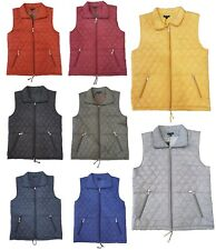 New Ladies Quilted Body Warmer Gilet Women's Jacket Plus Size