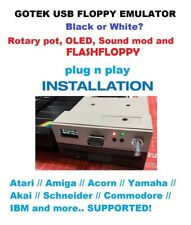Gotek Flash Floppy Oled Display Rotary Codificatore - Atari Amiga Ghianda Cpc