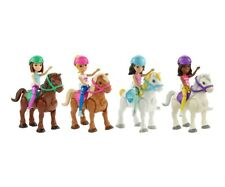 Mattel Barbie On The Go Bambola Und Pony (Selezione di Motivo) Spielset Ab 4 J