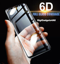 6D Cover Tempered Glass Screen Protector For Samsung Galaxy Note9 S10 S8 S9 Plus