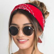 Korea Fashion 2018 Women Hair Accessories Linen Bandana Scarf Square Female Band