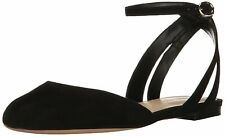 Nine West Womens Begany Leather Closed Toe Casual Ankle Strap Sandals