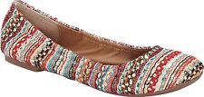 Lucky Brand Womens EMMIE Leather Closed Toe Ballet Flats