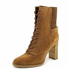 MICHAEL Michael Kors Womens Carrigan Leather Closed Toe Ankle Fashion Boots