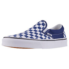 Vans Classic Slip-on Checkerboard Unisex Royal White Canvas Slip On