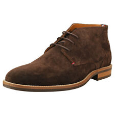 Tommy Hilfiger Daytona 2b Essential Mens Coffee Bean Suede Ankle Boots