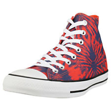 Converse Chuck Taylor All Star Hi Mens Coral Navy Canvas Trainers