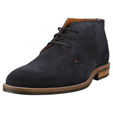 Tommy Hilfiger Daytona 2b Essential Mens Midnight Navy Suede Ankle Boots