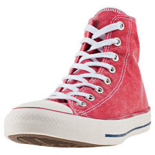 Converse Chuck Taylor All Star Hi Unisex Red White Canvas Trainers