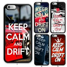 KEEP CALM AND DRIFT ON Car For Apple iPhone 11 iPod / Samsung Galaxy Case Cover