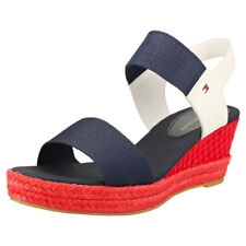 Tommy Hilfiger Iconic Elba Sandal Pop Color Mujeres Navy Red Blue