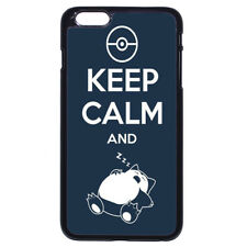 Pokemon Pikachu Snorlax KEEP For Apple iPhone iPod / Samsung Galaxy Case Cover