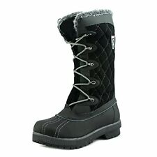 Sporto Womens Camille Round Toe Mid-Calf Cold Weather Boots
