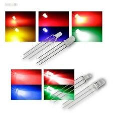 3/5mm Diodes Électroluminescentes, 3 Broches, Bicolore Diffuser /