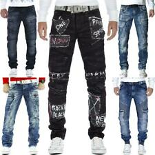 Cipo & Baxx Herren Regular Slim Fit Jeans Hosen Streetwear Freizeit Denim