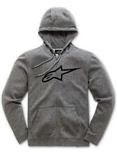 Felpa con Cerniera Donna Alpinestars Ageless Grigio Heather-Nero