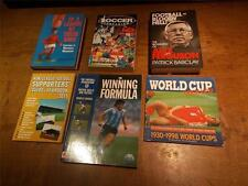 Collection 6 Books Soccer Football Manager Facts History Alex Ferguson World Cup