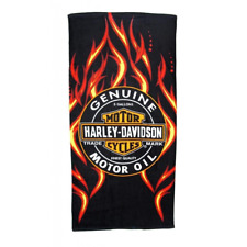 "Licensed Harley Davidson Motor Cycles Bath Beach Towel 30""x60"" SOA"