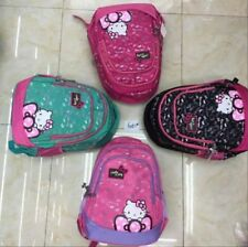 New Kids Hello Kitty Cat Character School Bag Backpack - US Seller, Fast ship