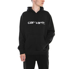 Carhartt Felpe Hooded Carhartt Sweatshirt Black / White Nero