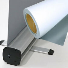 36 inch Inkjet Frontlit Film for Roll Up Stands with Grey Back 135mic
