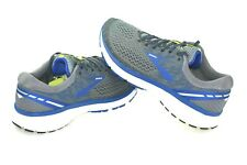 Brooks Ghost 11 Running Shoe - Men's Grey/Blue/Silver Choose Size