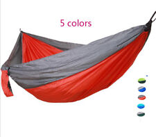 Multicolor Portable Travel Camping Outdoor Hanging Swing Hammock  Bed Net