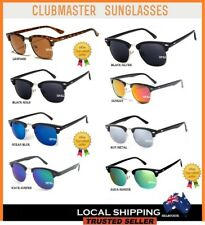 Clubmaster Adult Sunglasses Unisex Men Women UV400 Half Rimmed Frames