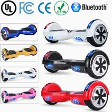"6.5"" Patinete Monociclo Electrico Scooter Hoverboard Balance Board Bluetooth LED"