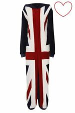 Unisex Union Jack All In One Piece Sleepwear Christmas Gift