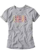 T-Shirt Donna Madison Forest Trail Tech Grigio Marl