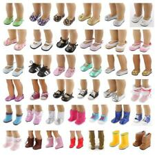 Fancy Dolls Shoes Boots for 18'' American Girl Generation Dolls Clothes Dress Up