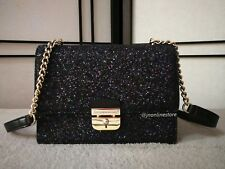 Kate Spade New York Sunset Lane Eden Women/Ladies Black Glittery Crossbody Bag