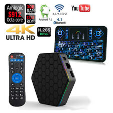 T95Z más Octa Core 32GB 3GB Android 7.1 1080p Tv-Box + Q9 Color Teclado
