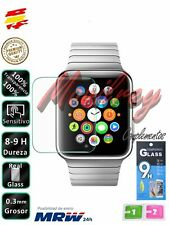 Set Protector de Pantalla Cristal Templado Premium para Reloj Apple Watch 42mm