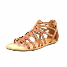 Nine West Attractir, Sandalias de Piso Mujeres, Punta Abierta, Casual