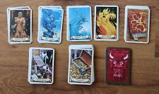 MB HeroQuest cards english strategy fantasy board game vintage