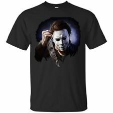 Halloween Michael Myers T-shirt Scare Horror Movie Shirt Short Sleeve Tops S-3XL