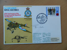 RAF FDC RAF Museum Hendon Squadron Series of Signed First Day Covers