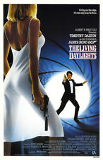 007 - THE LIVING DAYLIGHTS Theatrical Poster (A1 - A2)