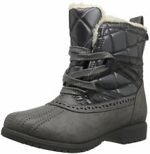 Keds Womens Snowday Bootie Closed Toe Ankle Cold Weather Boots