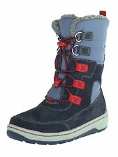 Timberland Kids' Winterfest Waterproof Snow Boots TB09094R484 Navy/Red
