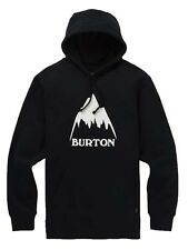 Felpa con Cappuccio Burton Classic Mountain High True Nero