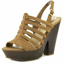 G by Guess seany2, Sandalias con Plataforma Mujeres, Punta Abierta, Casual, Tall