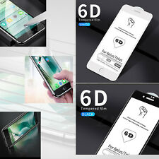6D Full Cover Edge Screen Protector Tempered Glass For iPhone all models