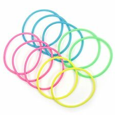 Pack Of 12 Neon Bracelets 7cm Long Party Bag Fillers Toys Gift Child