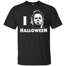 Michael Myers T-shirt I Love Halloween Horror Movie Tee Shirt Short Sleeve S-5XL