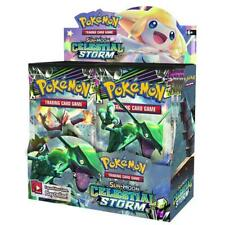 POKEMON: SUN & MOON CELESTIAL STORM SM7 - sealed boosters and cdu