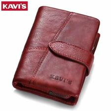 KAVIS 2018 Genuine Leather Women Wallet And Purses Coin Purse Female Small Porto