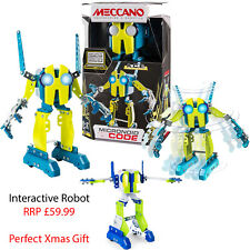Meccano Personal Robot Construction Toy Code Ace Green Interactive Xmas Gift Kid